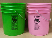 High Density Plastic Buckets