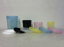 Clarified Polypro Plastic Lids & Containers